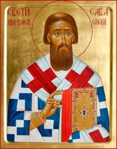Икона свт. Саввы Сербского