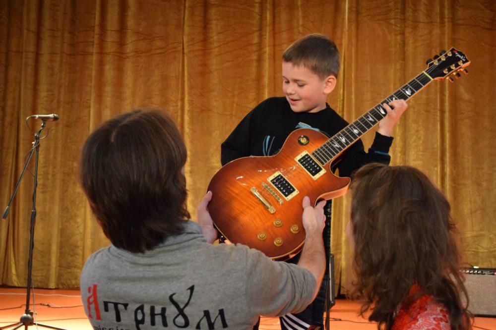 Концерт в детском санатории