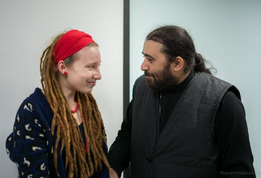 Встреча с о. Серафимом Бит-Хариби в «Атриум-Москва» 30 октября 2016