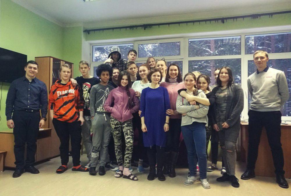 Социальное служение в детском санатории в Солнечном